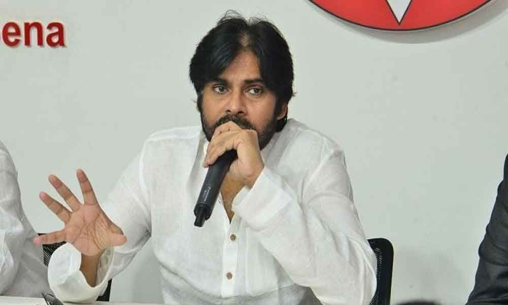 Pawan Kalyan holds district review with Janasena leaders