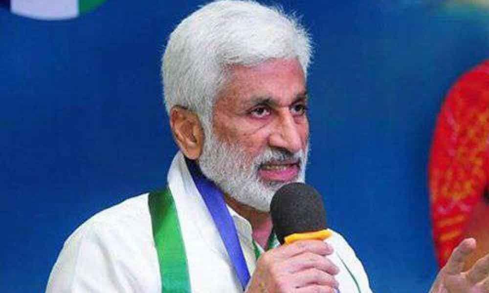 MP Vijayasai Reddy counters Yanamala over Praja Vedika