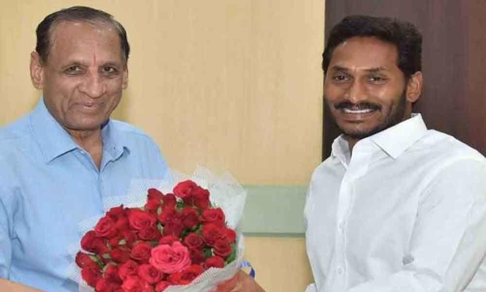 CM YS Jagan to meet Governor Narasimhan in Vijayawada