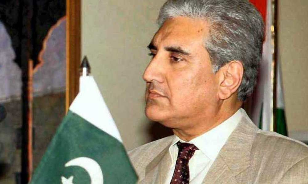 Pakistan Foreign Minister Qureshi writes to S Jaishankar; offers talks on