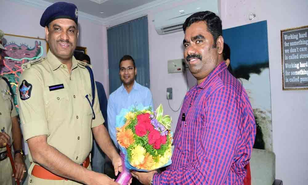 Kurnool Collector takes charge