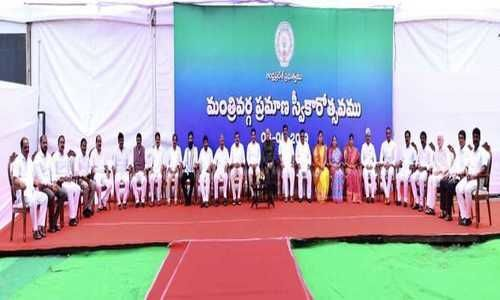 Live Updates: Jagans First Day in Secretariat and Ministers Swearing In