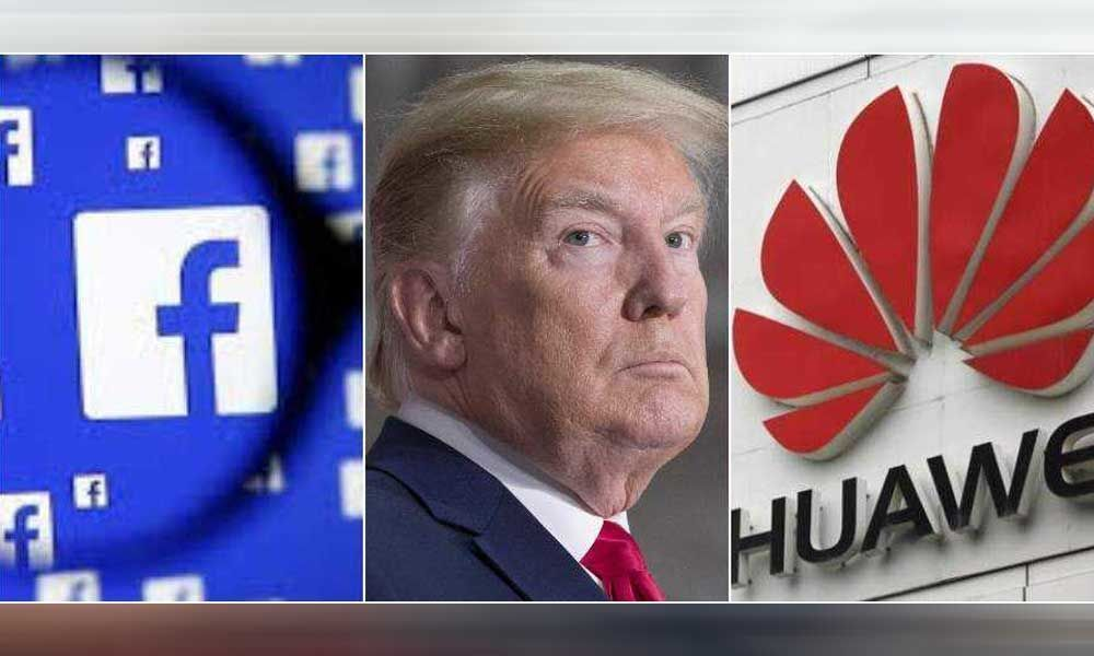 Facebook to cut off Huawei after US President Donald Trump