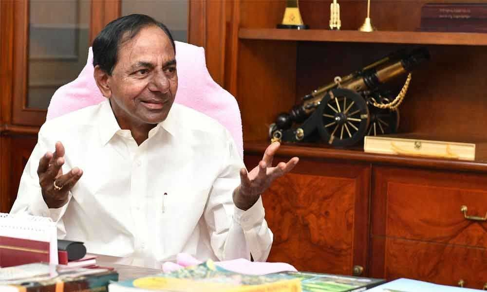 CM KCR greets newly elected MPTC, ZPTC members