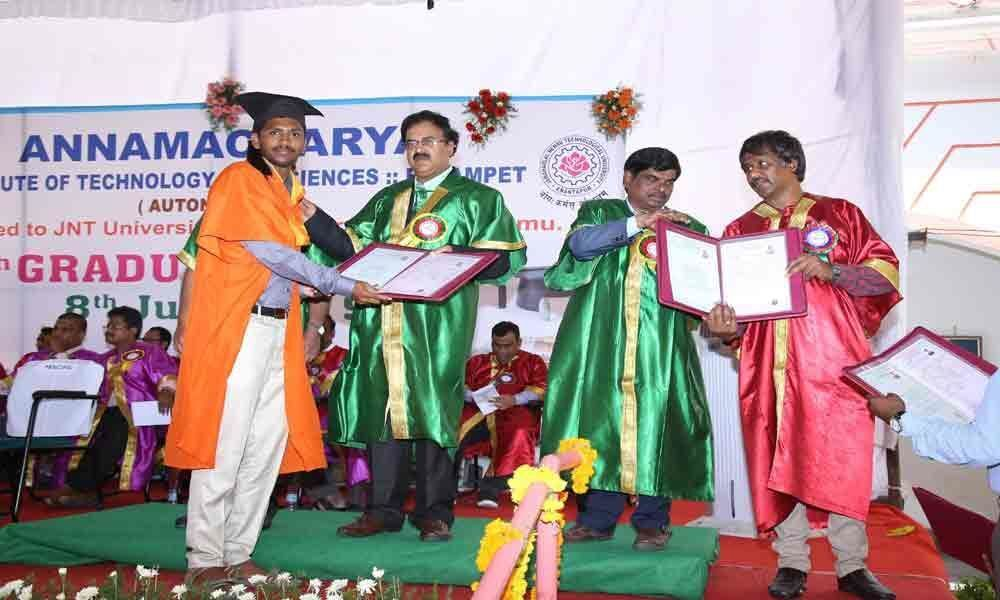Graduation Day of AITS held