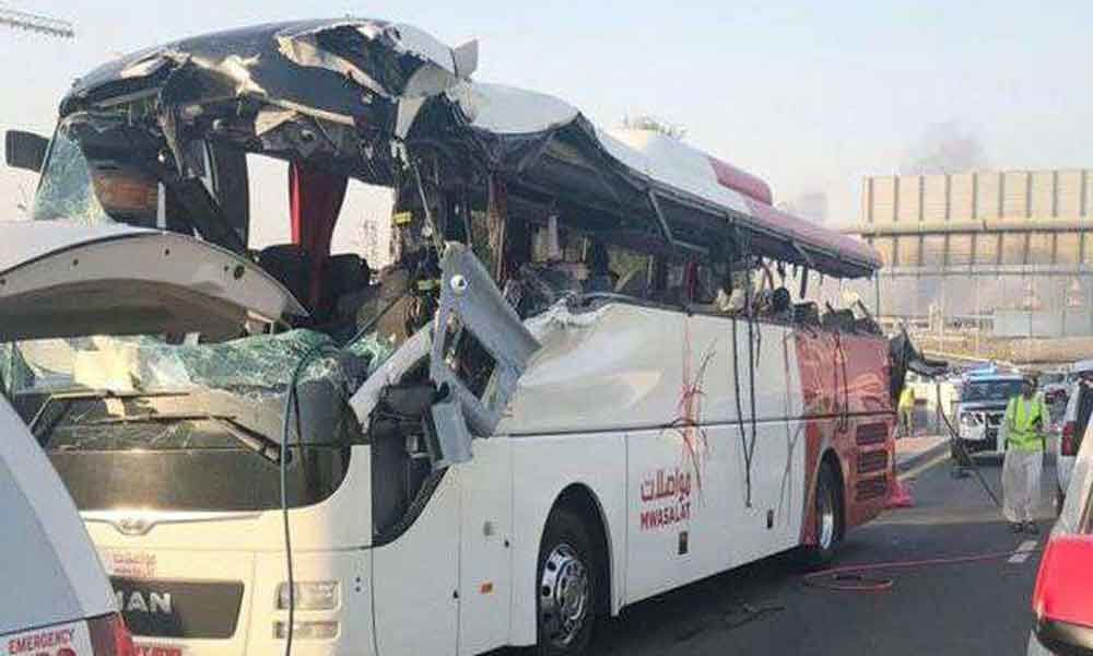 Dubai bus crash: 11 Indian victims bodies flown home, one cremated in UAE