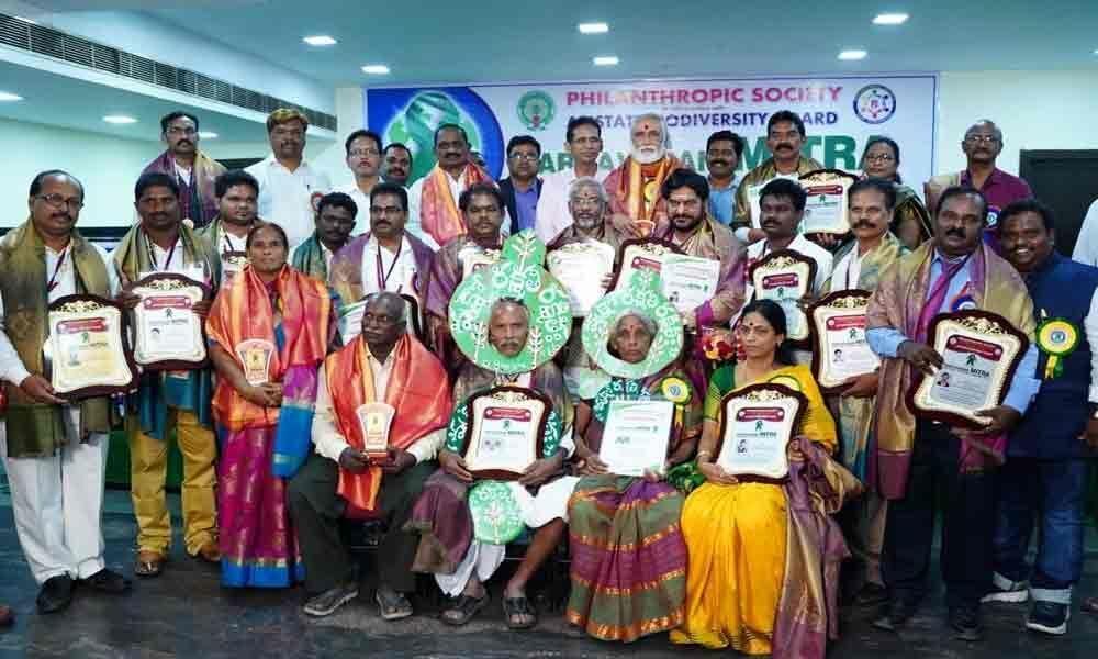 Paryavarana Mitra awards presented