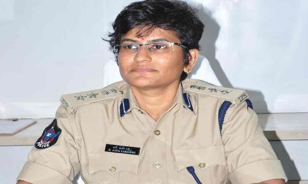 Jayalakshmi takes charge as SP
