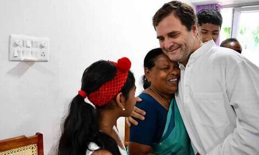 Rahul meets his delivery nurse