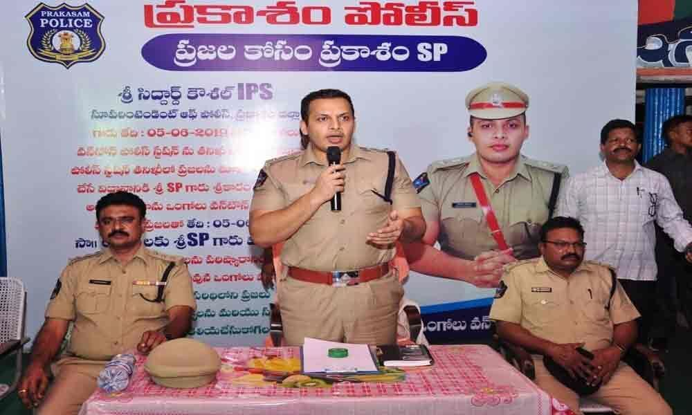 Community policing to build rapport with public