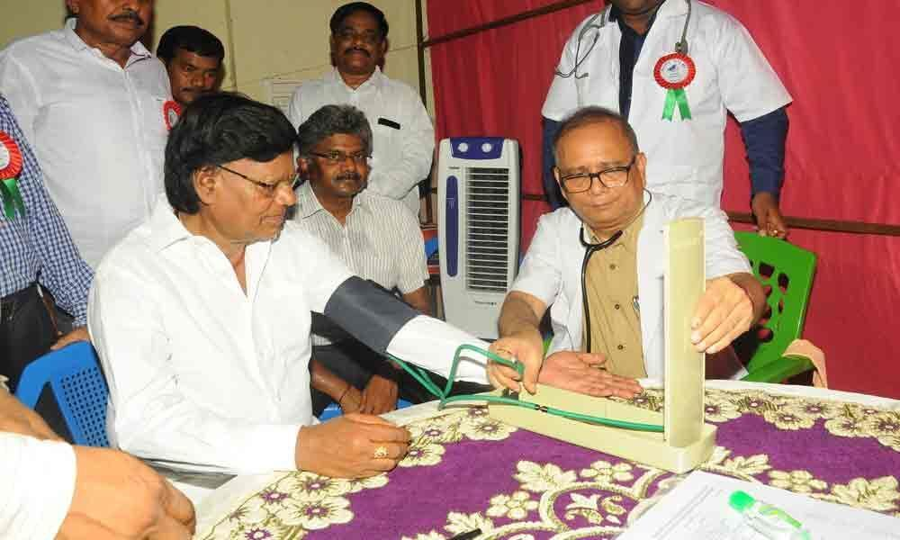 460 people examined in medical camp