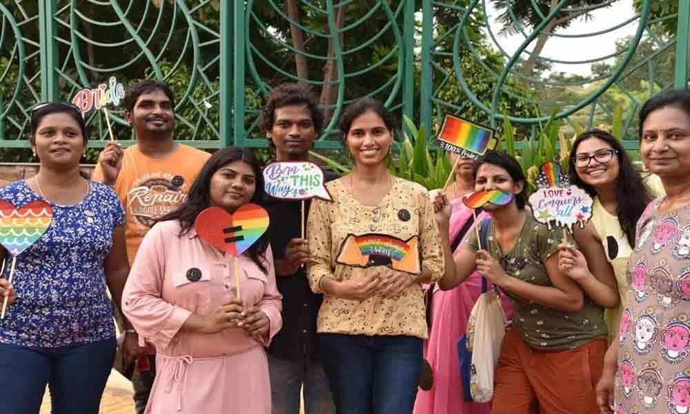 Rainbow walk to create awareness on LGBTQIA
