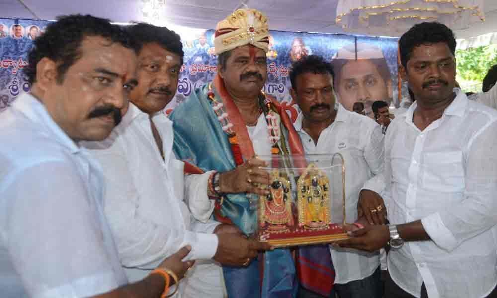 Avanthi vows to develop Vizag on all fronts