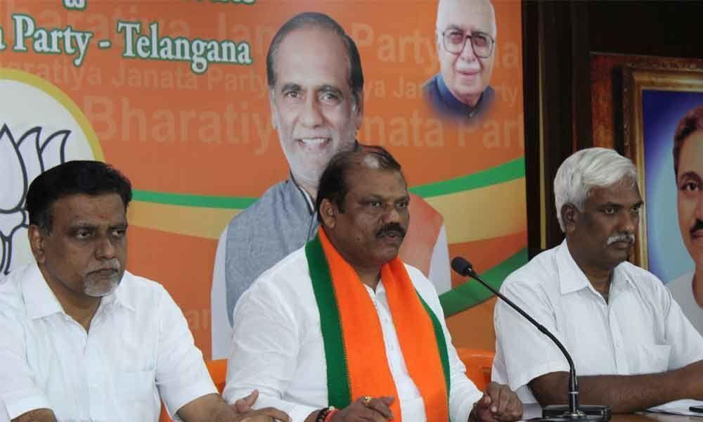 BJP general secretary G Premender Reddy