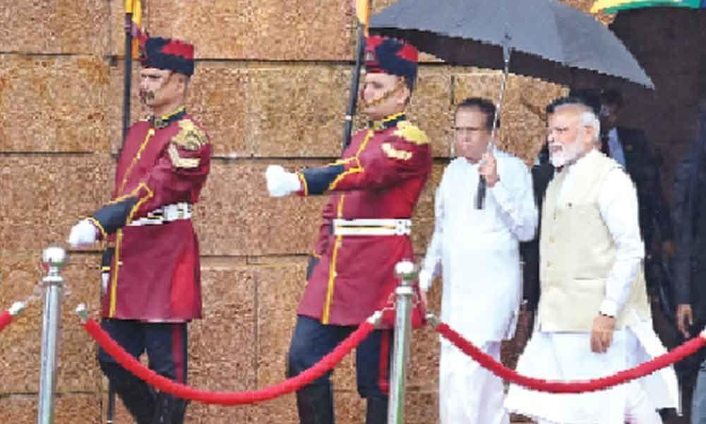 Terrorism a joint threat : Modi, Sirisena agree on collective action