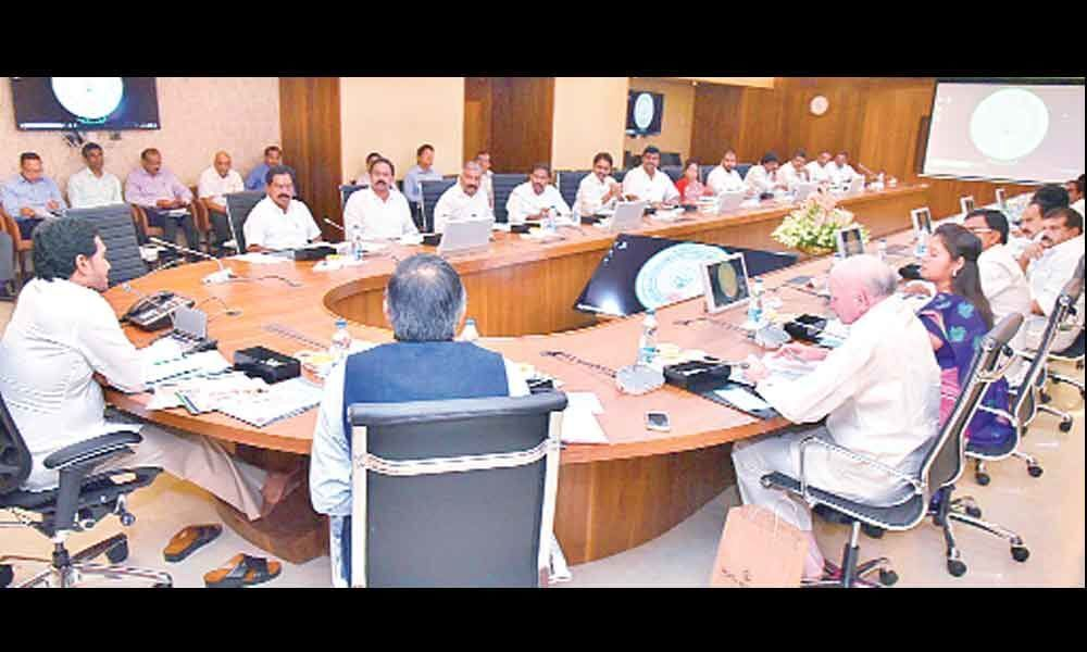 First Cabinet Meet Sets Tone For Jagan Rule: AP to do away with CPS