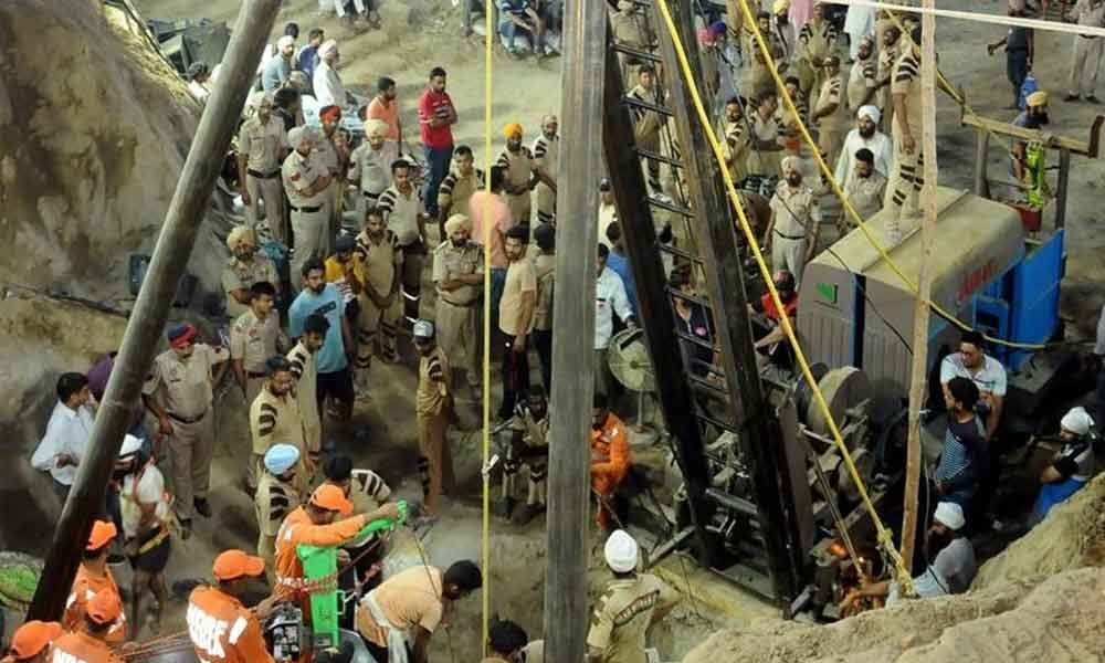 2-yr-old Punjab boy dies after being pulled out of borewell after 110 hours