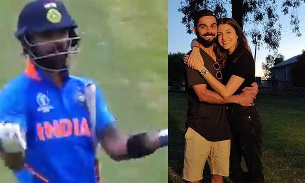Wife approved : Anushka Sharmas reaction to Virat Kohlis gesture is adorable!