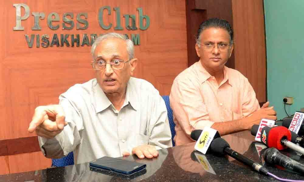 Visakhapatnam: Water conservationist to visit North Andhra