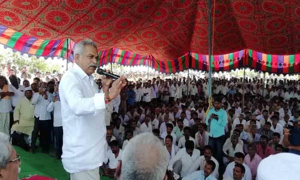 Kandukur: Water supply from Rallapadu to Kamadhenu project opposed