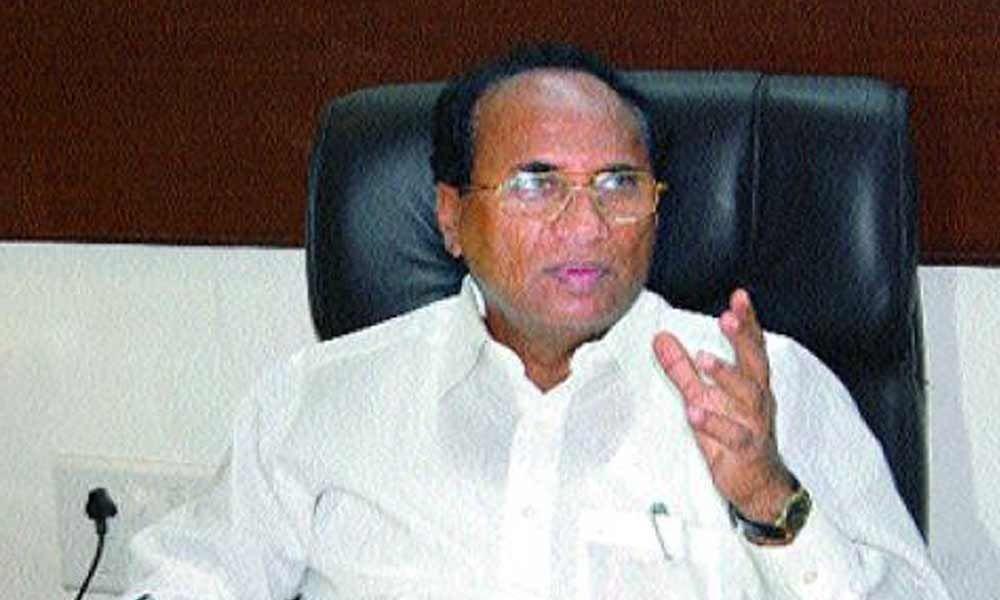 Former Speaker Kodela Siva Prasad Rao reacts over cases on family