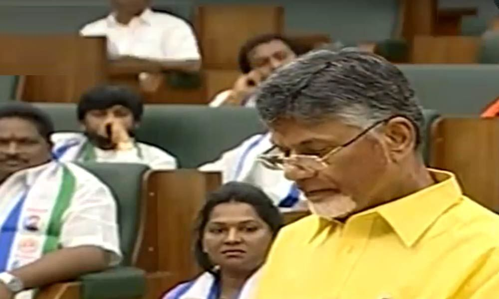 Chandrababu Naidu takes oath as MLA
