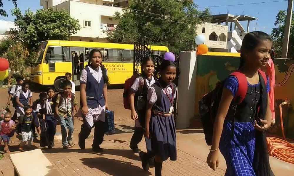Students turn up for classes as schools reopen