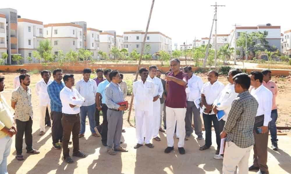 K Chandrashekhar Rao to inaugurate 2BHK houses soon: Harish Rao