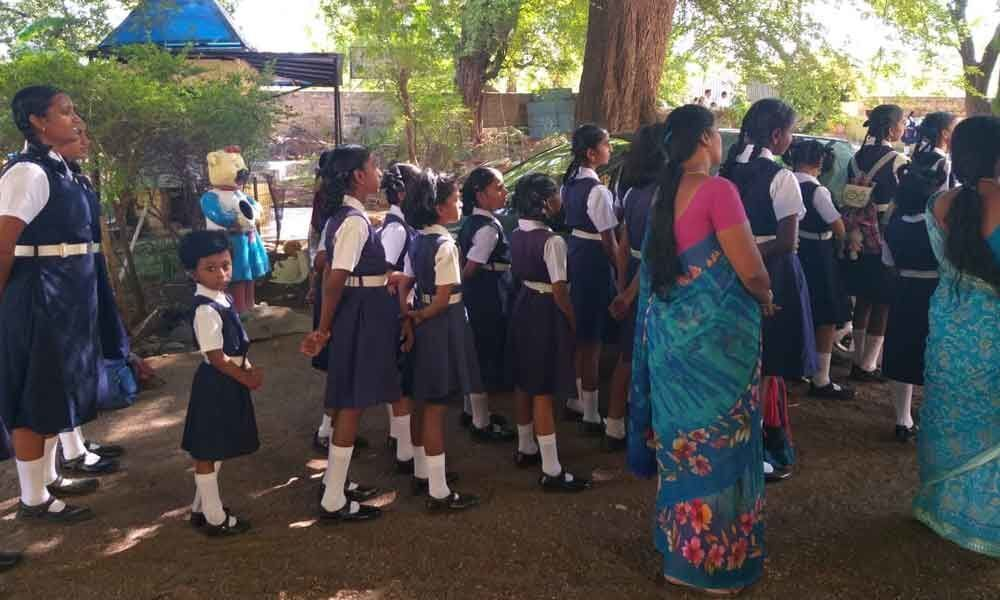 School students stranded at Yapral