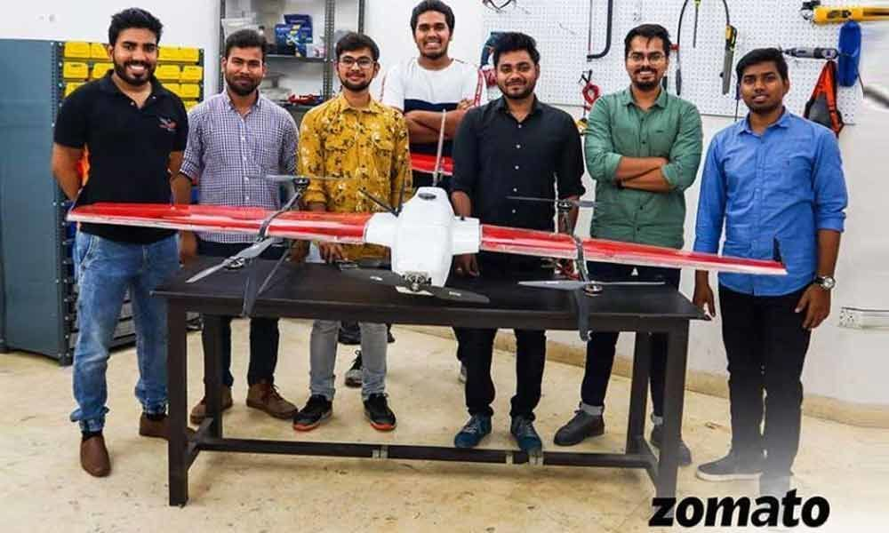 Zomato tested drone technology successfully