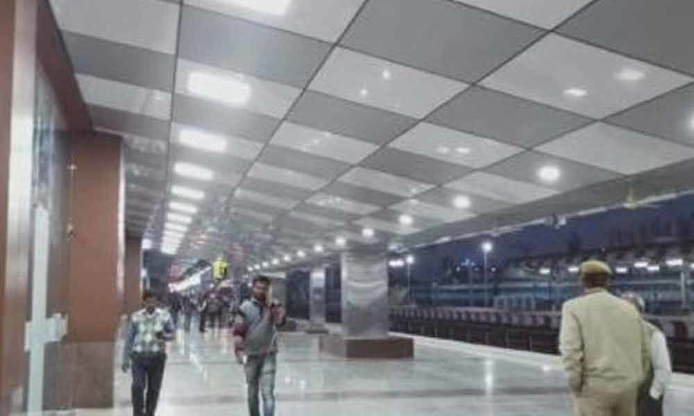 A railway station that looks more like airport