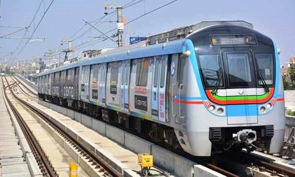 Introduction of one more additional train from Ameerpet to Hitec city