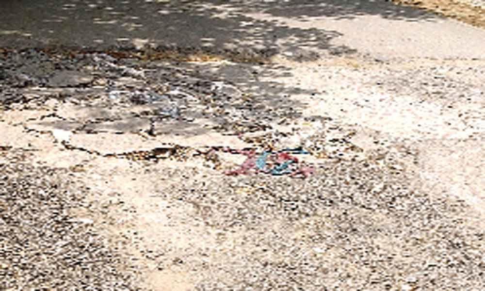 AS Rao Nagar inner roads in bad shape