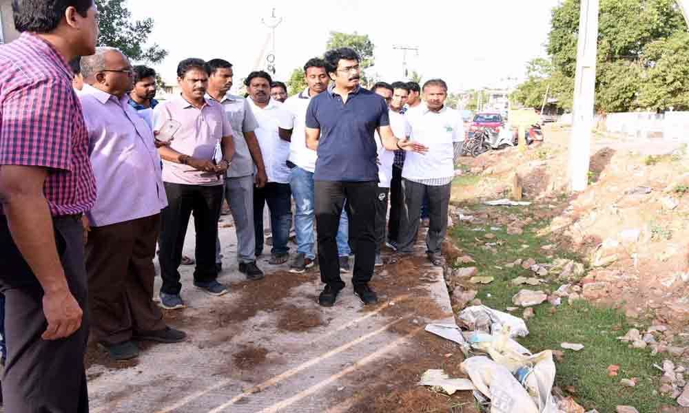 Sanitation works inspected: Collector