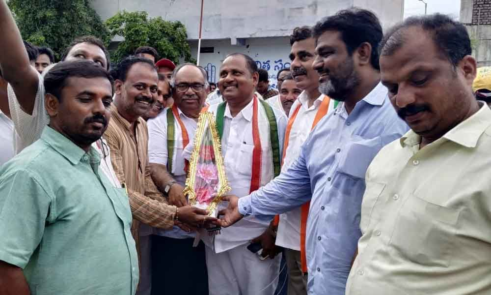 New district chief for Congress party