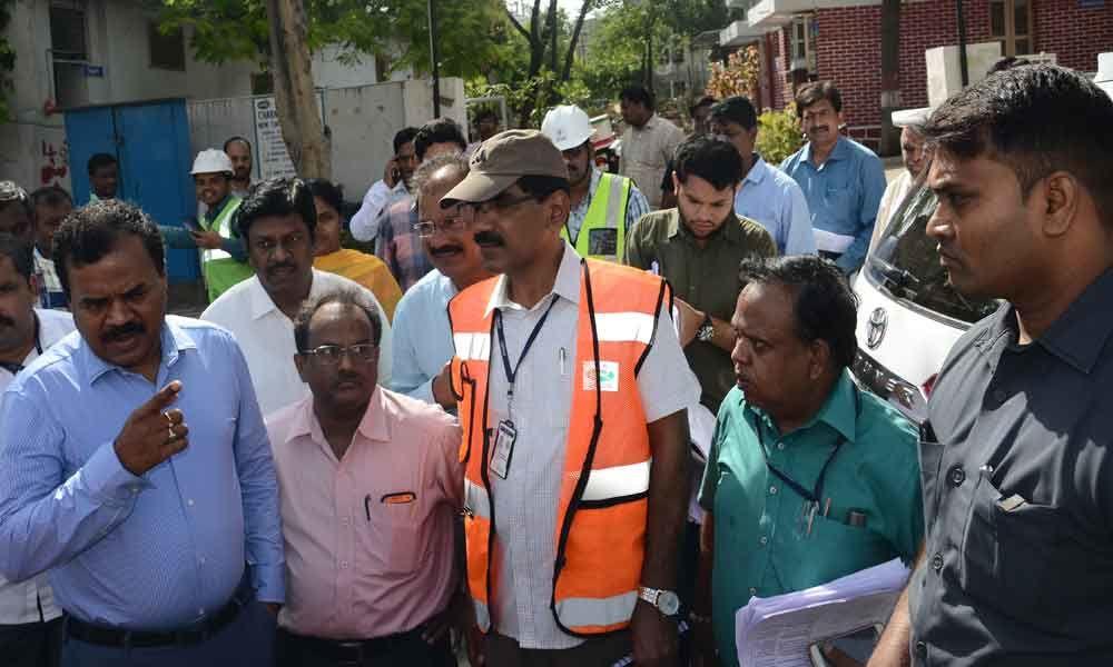 Box drain works begin at Dabeerpura Kaman