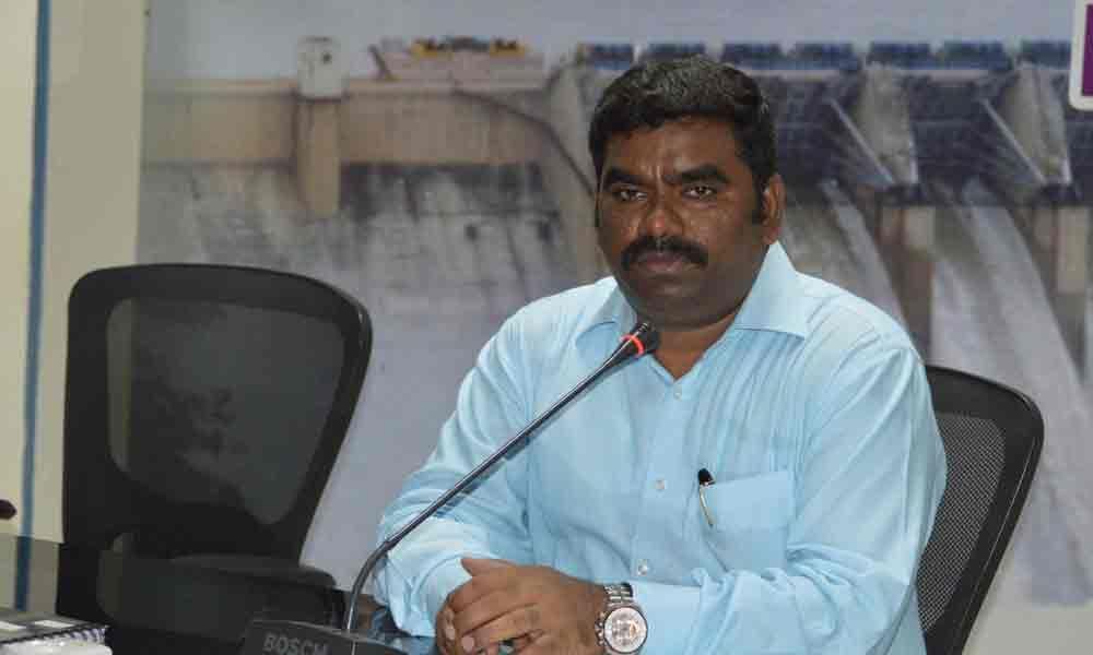 District Collector G Veera Pandian