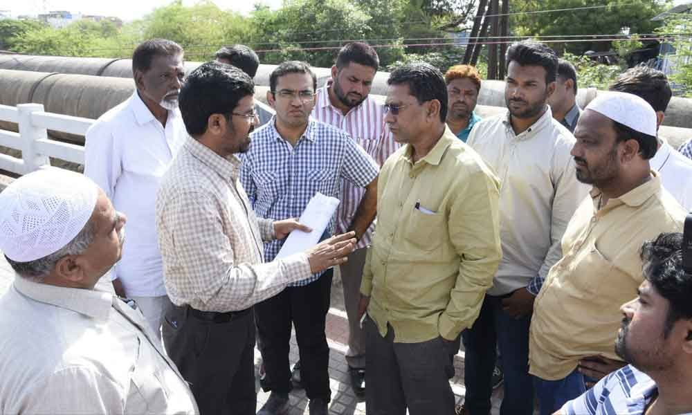 Works in full swing to face monsoon: MLA Kausar Mohiuddin