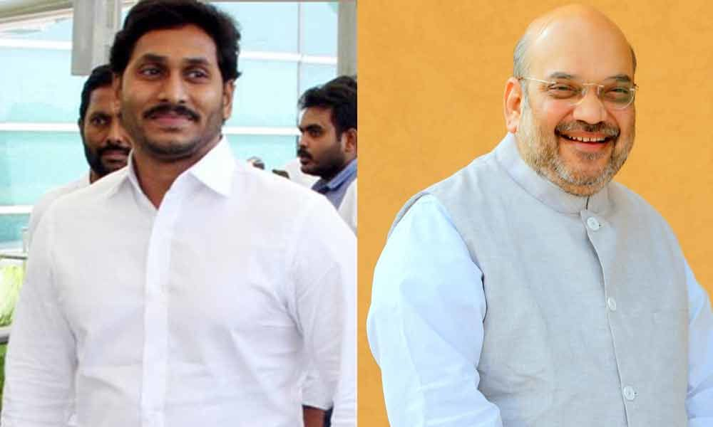 CM YS Jagan to meet Amit Shah today in Delhi