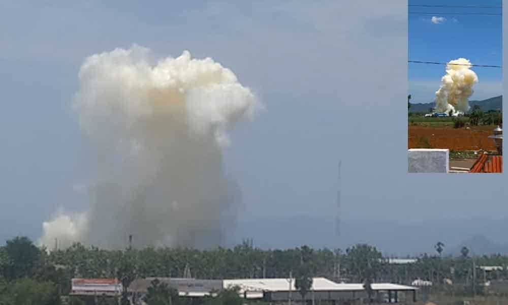 Two killed, four injured in boiler explosion at  Bobbili