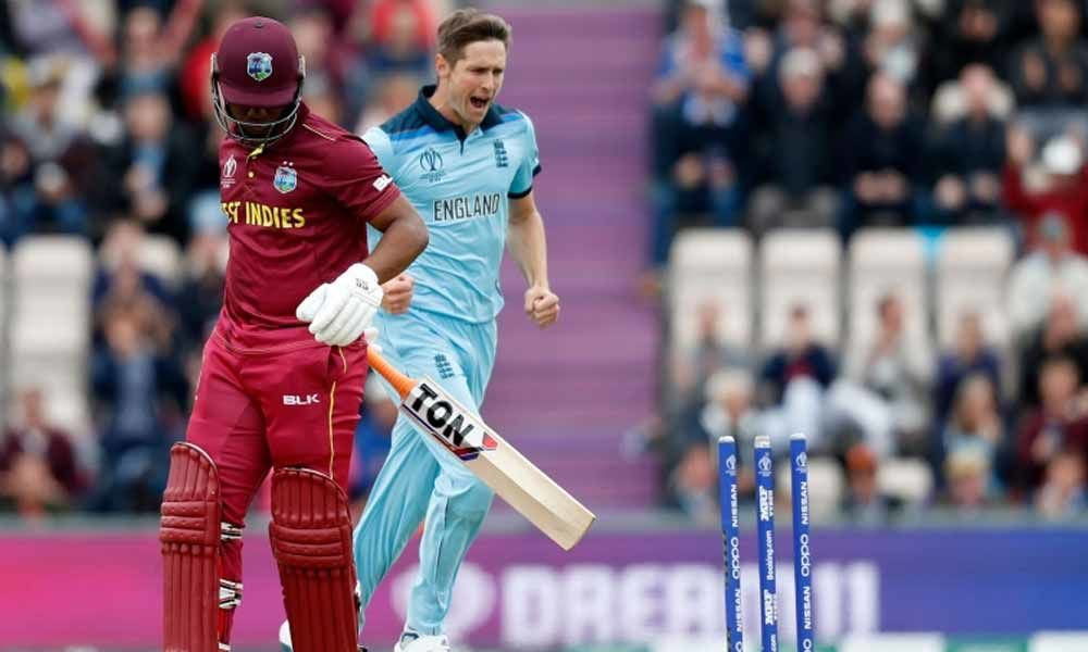 England win toss, elect to bowl against West Indies