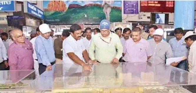 SCR GM undertakes inspection of Tirupati area