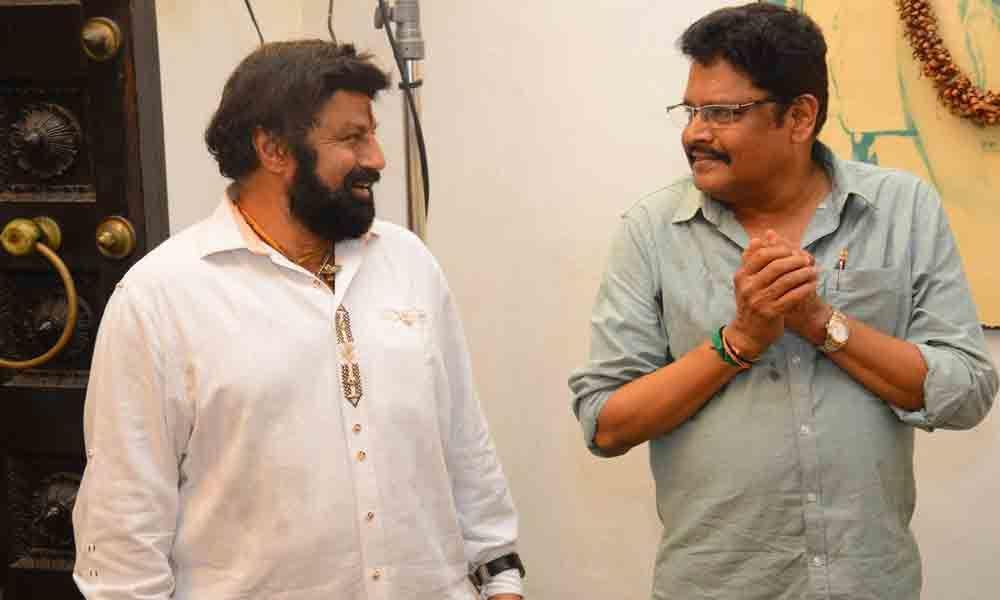 Balayya, Ravi Kumar team up