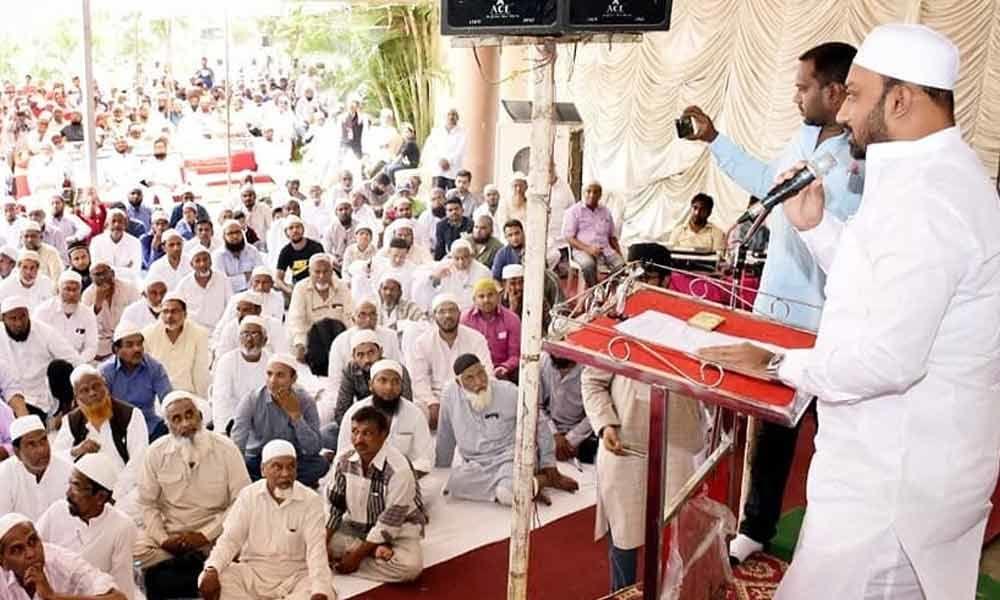 Orientation camp for Haj pilgrims tomorrow at Azampura in Chaderghat