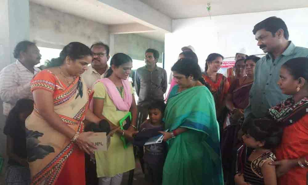 Mayor participates in Rajanna Badibata
