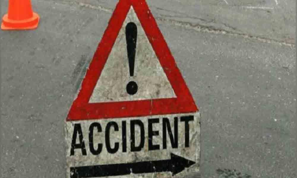 Car knocks down pedestrian on Narketpally-Addanki highway
