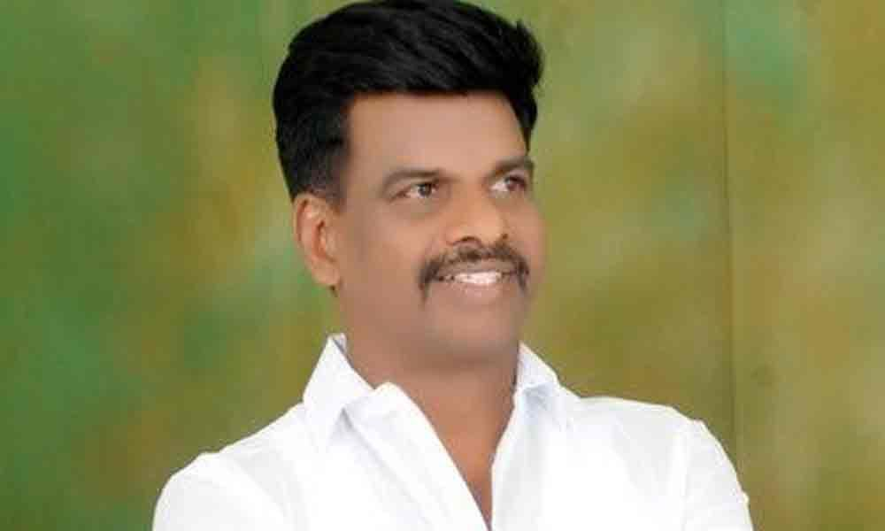 MP Gorantla Madhav gesture to injured constable hailed