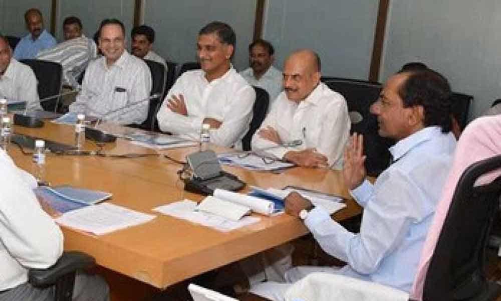 Telangana cabinet will meet on Tuesday at Pragati Bhavan