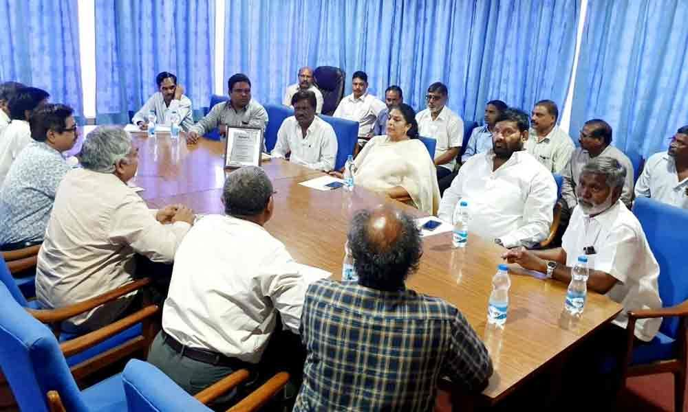 HMT MTEU review meeting held