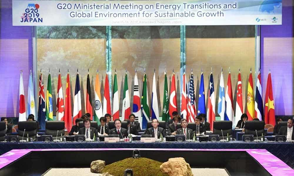 G-20 energy, environment chiefs meet in Japan amid Middle East tensions